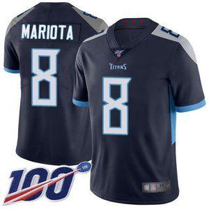 Mens Titans Marcus Mariota 100th Season Jerseys